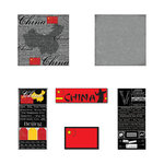 Scrapbook Customs - Complete Kit - China