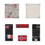 Scrapbook Customs - Complete Kit - Norway