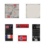 Scrapbook Customs - Complete Kit - Norway