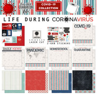 Scrapbook Customs - Covid-19 Collection - 12 x 12 Collection Kit