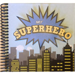 Scrapbook Customs - Superhero Collection - 6 x 6 Mini Book Kit