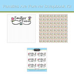 Scrapbook Customs - 12 x 12 Page Kit - Families Are Forever
