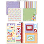 Scrapbook Customs - LDS Collection - 12 x 12 Scrapbook Kit - Young Women
