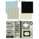 Scrapbook Customs - LDS Collection - 12 x 12 Scrapbook Kit - Missionary