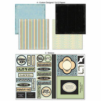 Scrapbook Customs - LDS Collection - 12 x 12 Scrapbook Kit - Missionary