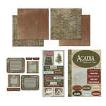 Scrapbook Customs - National Parks Scrapbook Kit - Acadia