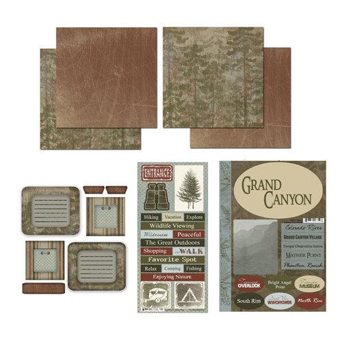 Scrapbook Customs - National Parks Scrapbook Kit - Grand Canyon