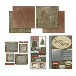 Scrapbook Customs - National Parks Scrapbook Kit - Grand Canyon