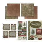 Scrapbook Customs - National Parks Scrapbook Kit - Grand Teton