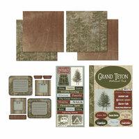 Scrapbook Customs - National Parks Scrapbook Kit - Grand Teton