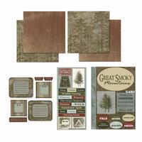 Scrapbook Customs - National Parks Scrapbook Kit - Great Smoky Mountains