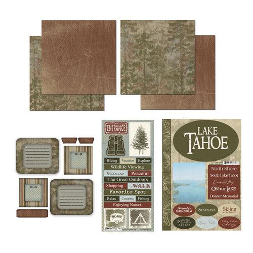 Scrapbook Customs - National Parks Scrapbook Kit - Lake Tahoe