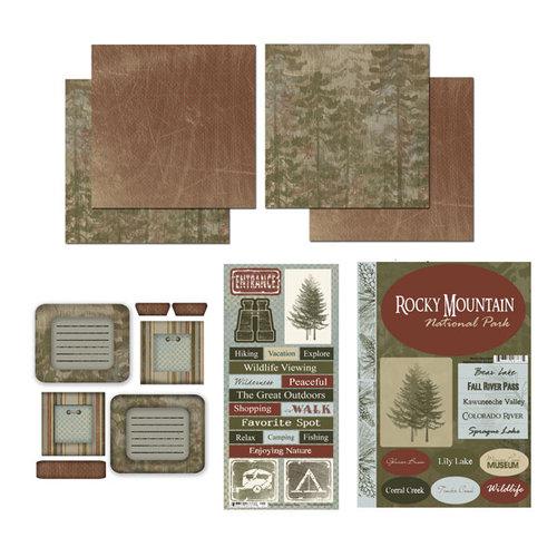 Scrapbook Customs - National Parks Scrapbook Kit - Rocky Mountain