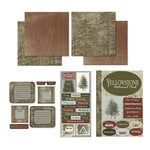 Scrapbook Customs - National Parks Scrapbook Kit - Yellowstone
