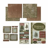 Scrapbook Customs - National Parks Scrapbook Kit - Yosemite
