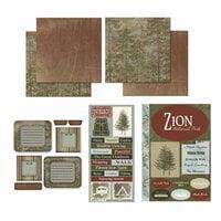Scrapbook Customs - National Parks Scrapbook Kit - Zion