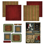 Scrapbook Customs - Patchwork Scrapbook Kit - Alaska