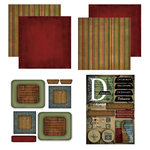 Scrapbook Customs - Patchwork Scrapbook Kit - Delaware