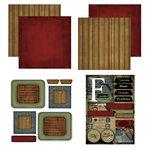 Scrapbook Customs - Patchwork Scrapbook Kit - Florida