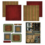 Scrapbook Customs - Patchwork Scrapbook Kit - Hawaii