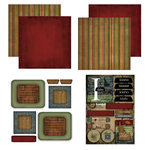 Scrapbook Customs - Patchwork Scrapbook Kit - Idaho
