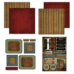 Scrapbook Customs - Patchwork Scrapbook Kit - Indiana