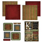 Scrapbook Customs - Patchwork Scrapbook Kit - Kansas