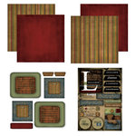 Scrapbook Customs - Patchwork Scrapbook Kit - Louisiana