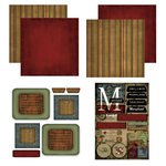 Scrapbook Customs - Patchwork Scrapbook Kit - Maryland