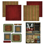 Scrapbook Customs - Patchwork Scrapbook Kit - Massachusetts