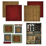 Scrapbook Customs - Patchwork Scrapbook Kit - Michigan