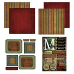 Scrapbook Customs - Patchwork Scrapbook Kit - Missouri