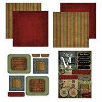 Scrapbook Customs - Patchwork Scrapbook Kit - New Mexico