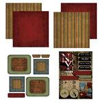 Scrapbook Customs - Patchwork Scrapbook Kit - New York