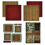 Scrapbook Customs - Patchwork Scrapbook Kit - North Dakota