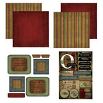 Scrapbook Customs - Patchwork Scrapbook Kit - Oklahoma