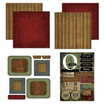 Scrapbook Customs - Patchwork Scrapbook Kit - Oregon