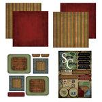 Scrapbook Customs - Patchwork Scrapbook Kit - South Carolina