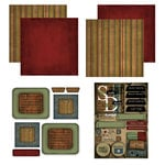Scrapbook Customs - Patchwork Scrapbook Kit - South Dakota