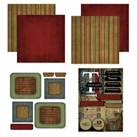 Scrapbook Customs - Patchwork Scrapbook Kit - Tennessee