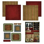 Scrapbook Customs - Patchwork Scrapbook Kit - Texas