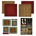 Scrapbook Customs - Patchwork Scrapbook Kit - Utah