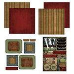Scrapbook Customs - Patchwork Scrapbook Kit - Washington