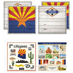 Scrapbook Customs - State Sightseeing Kit - Arizona