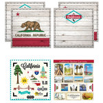 Scrapbook Customs - State Sightseeing Kit - California