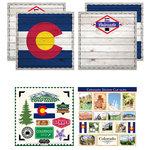 Scrapbook Customs - State Sightseeing Kit - Colorado