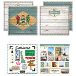 Scrapbook Customs - State Sightseeing Kit - Delaware
