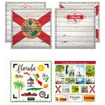 Scrapbook Customs - State Sightseeing Kit - Florida