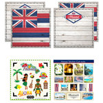 Scrapbook Customs - State Sightseeing Kit - Hawaii