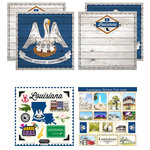 Scrapbook Customs - State Sightseeing Kit - Louisiana